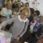 """Esperanza Aguirre: """"Espero que el Espíritu Santo inspire a los madrileños"""""""