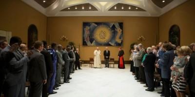 Pastores evangelicos se reunen con el Papa