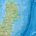 Terremoto de 6,8 grados sacude el noreste de Japón