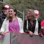 La Dra. Ana María Polo participa en el desfile del orgullo gay en Nueva York