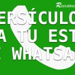 Versículos Bíblicos para tu estado de WhatsApp