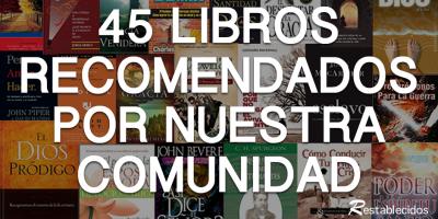 45 libros recomendados por la comunidad restablecidos