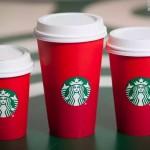 Acusan de anticristianos los nuevos vasos rojos de Starbucks