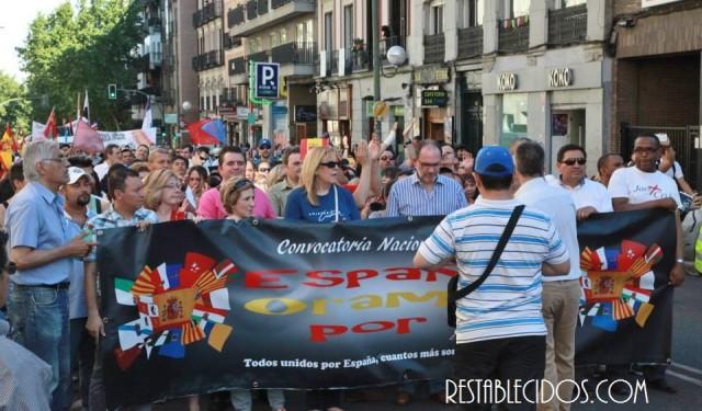 Españoles marchan por cristianos perseguidos