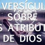 25 versos que descrevem os atributos de Deus