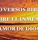 Cinco versículos bíblicos que falam sobre o incrível amor de Deus