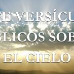 Siete versos de la Biblia sobre el cielo