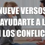 9 versos que te ayudarán a lidiar con el conflicto