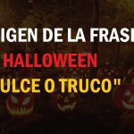 """Origen de la frase de Halloween """"dulce o truco"""""""