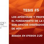 95 tesis para la iglesia evangélica de hoy – Tesis número 5