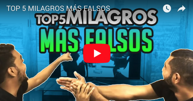 TOP 5 MILAGROS MAS FALSOS FB
