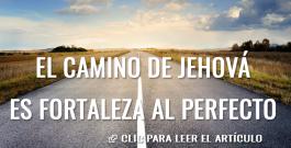 El camino de Jehová es fortaleza al perfecto