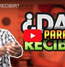 [VIDEO] ¿DAR PARA RECIBIR?