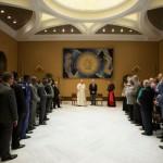 Cien pastores pentecostales se reúnen con el Papa Francisco en el Vaticano