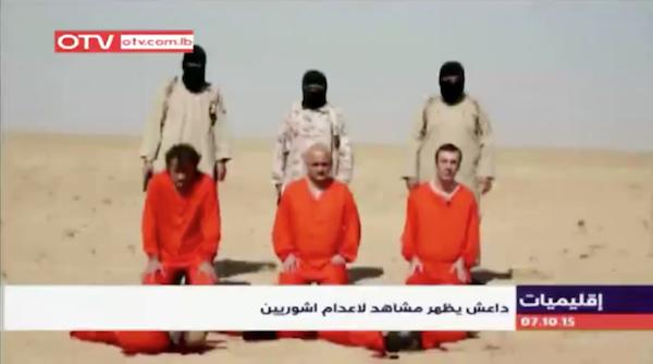 ISIS ejecuta tres asirios