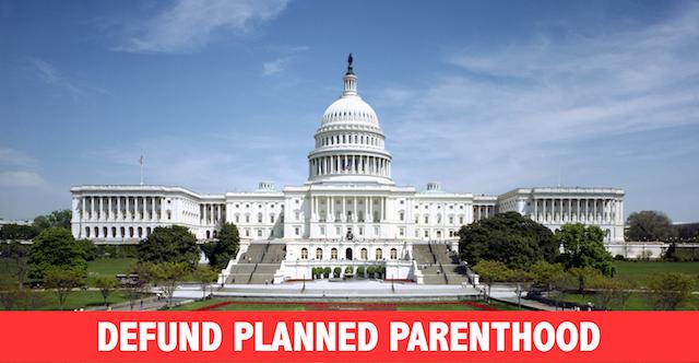 defund planned parenthood