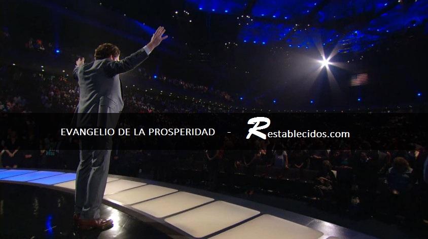 """La doctrina de la prosperidad: """"Hasta las piedras están hablando"""". REPORTAJE"""