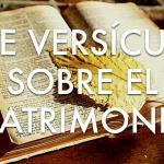 7 versículos de la Biblia que nos ayudan a construir una imagen de lo que significa el matrimonio