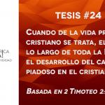 95 tesis para la iglesia evangélica de hoy – Tesis número 24