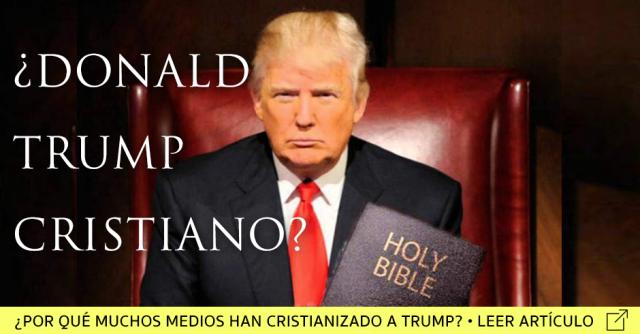donald trump cristiano