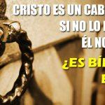 Cristo es un caballero, si no lo invitas Él no entra ¿Es bíblico esto?