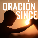 Una oración sincera