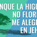Aunque la higuera no florezca, me alegraré en Jehová