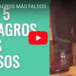 [VIDEO] TOP 5 MILAGROS MÁS FALSOS