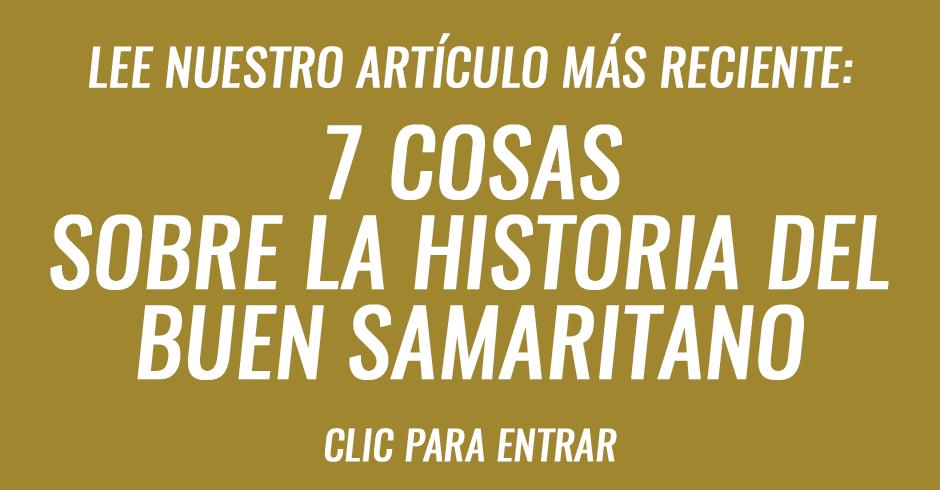 7 cosas sobre la historia del buen samaritano