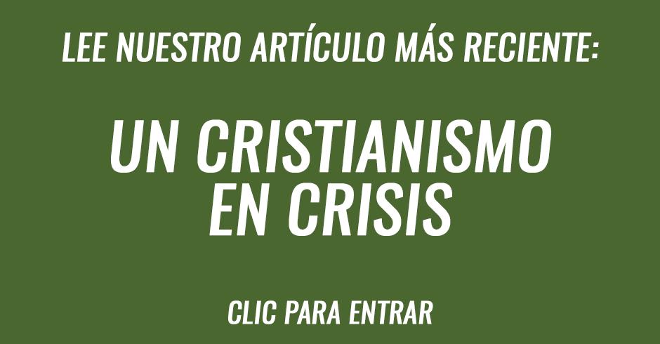 Un cristianismo en crisis