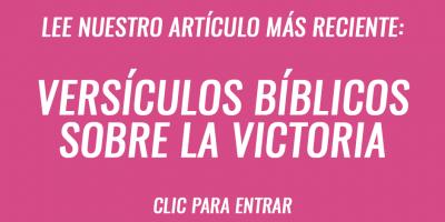 Versículos bíblicos sobre la victoria