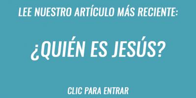 Quién es Jesús