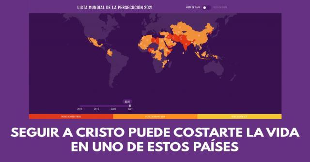 Seguir a Cristo puede costarte la vida en uno de estos países