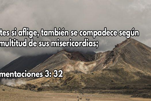 Dios se compadece según la multitud de sus misericordias